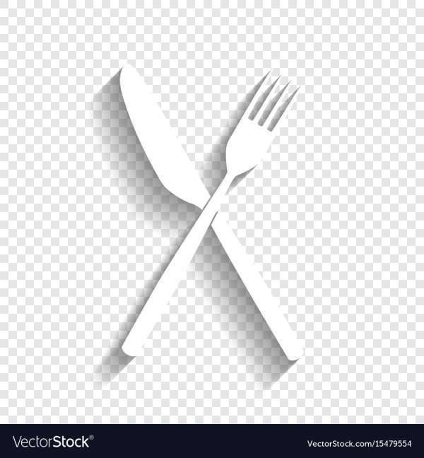 10 Fork And Knife Icon Png White Icon Png Butterfly Black And White