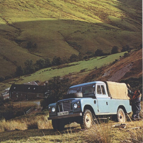 Landrover Defender Land Rover Series 109: One Of My Favourite Land Rovers Of All