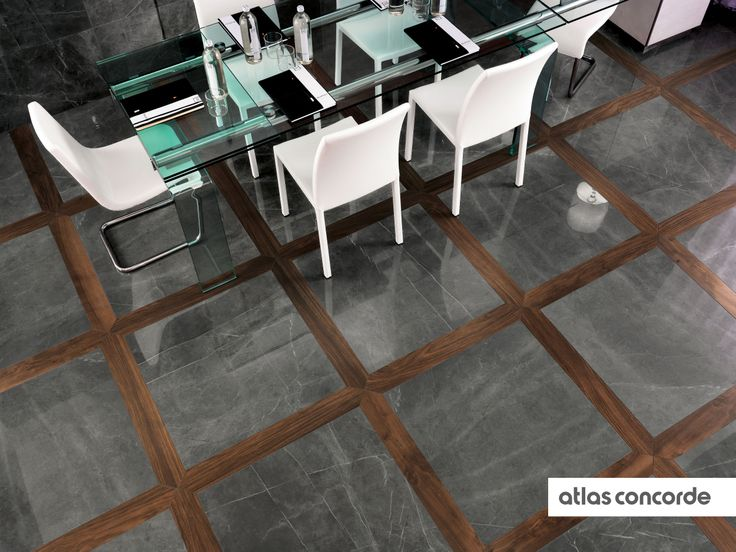 #MARVEL grey lacunar   #Floor design   #AtlasConcorde   #Tiles   #Ceramic   #PorcelainTiles