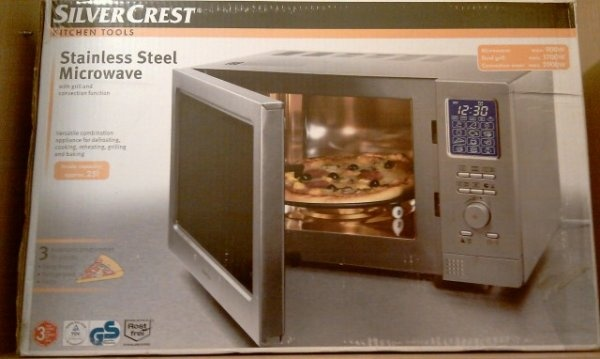 Latest Cyprus Classified Ads Microwave Oven Inox