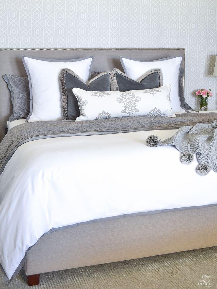 Schöne Betten   Schlafzimmer design, Graue wand ...