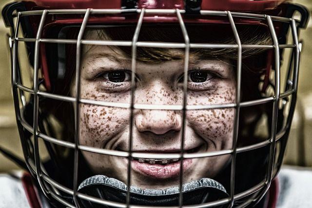 Kostenloses Bild auf Pixabay - Hockey, Helm, Gesicht, Sport