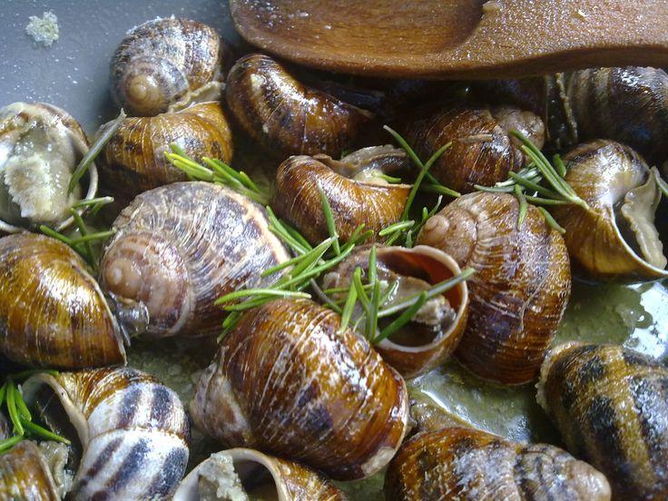 Authentic #Cretan snails! #Crete #Gastronomy