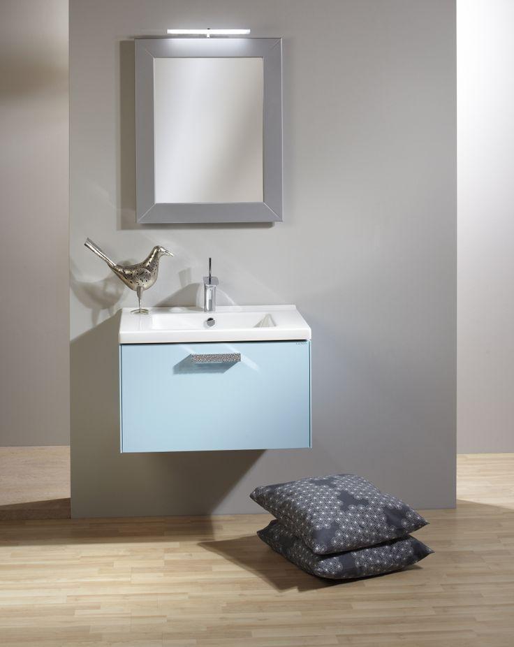 Blue Wash-basin.