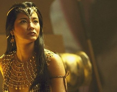 Kelly Hu as Cassandra from The Scorpion King