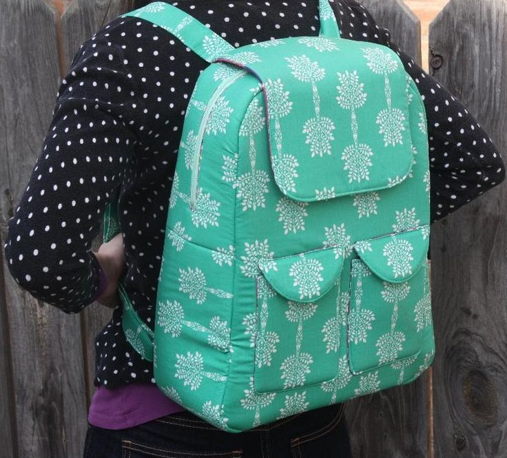 Edelweiss Backpack PDF Sewing Pattern  from Sew Sweetness