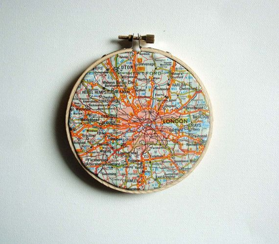 it would be cool to collect these for all the cities you've been to: Etsy Favorite, Compact Powder, The Cities, London Maps, London Call, Etsy Group, Etsy Finding, 15 00, Maps Art