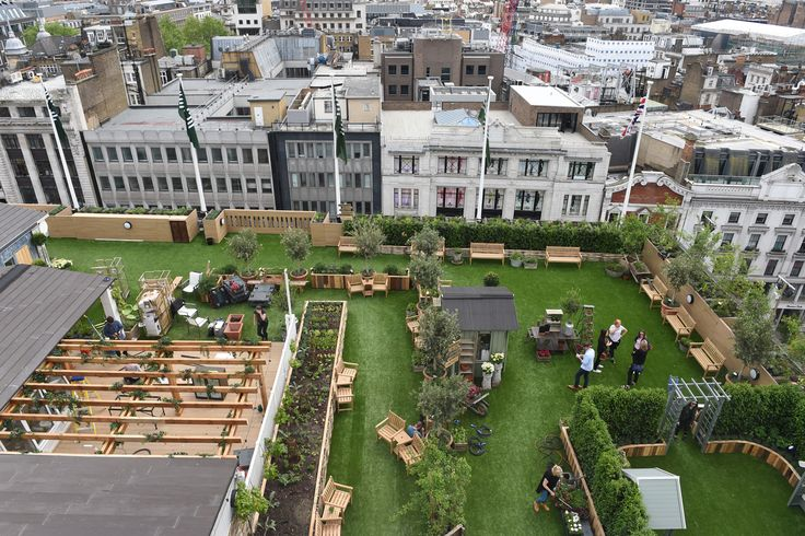 "The roof of John Lewis in Oxford Street has been transformed into ""a little piece of the English countryside"" with top chef Robin Gill among those taking a restaurant residency in the space. The Standard was the first to look at The Gardening Society rooftop, which will launch tonight with a party at the flagship store. Food is at the centre of the pop-up with Gill among the London chefs serving up seasonal dishes."