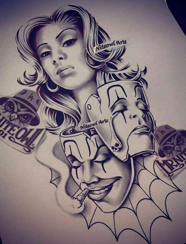 M&225s De 1000 Ideas Sobre Cholo Tattoo En Pinterest  Chicano Tatuajes