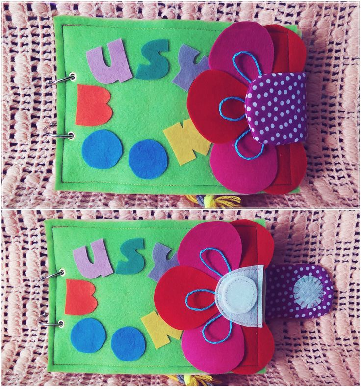 Cover book before & after #busybook