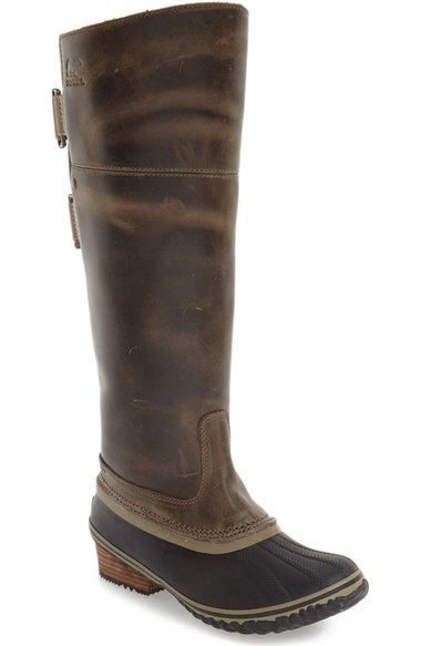 Main Image - SOREL 'Slimpack I' Waterproof Riding Boot (Women)