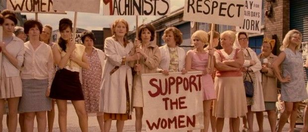 "In 1968, the female workers of Ford's Dagenham factory strike in ""Made in Dagenham."" -- Made in Dagenham DVD Review"