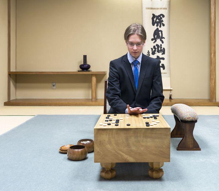 Finnish Antti Törmänen, who is a professional Go player in Japan