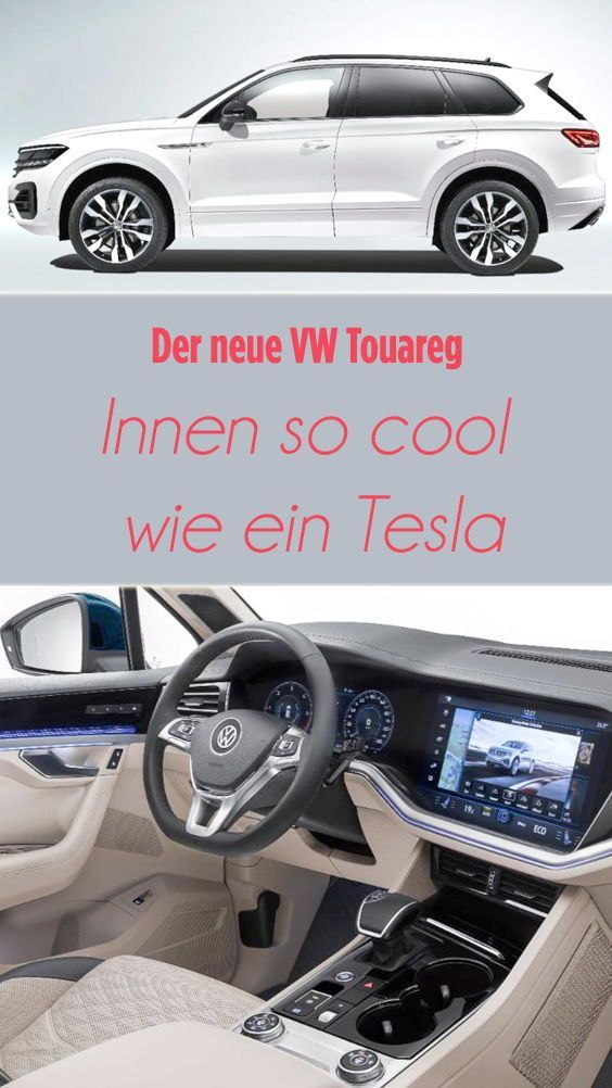So Konservativ Außen Abgefahren Ist Der Neue Touareg Innen Gestaltet Öffnet Man Türen Erhascht Einen Blick In Wolfsburger Zukunft