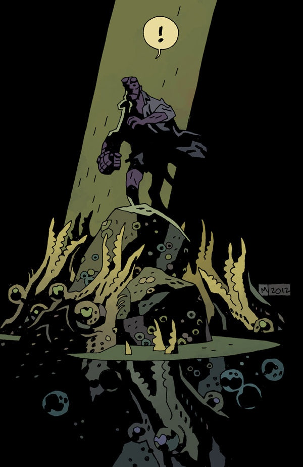 Preview: Hellboy in Hell #1, Cover - Comic Book Resources