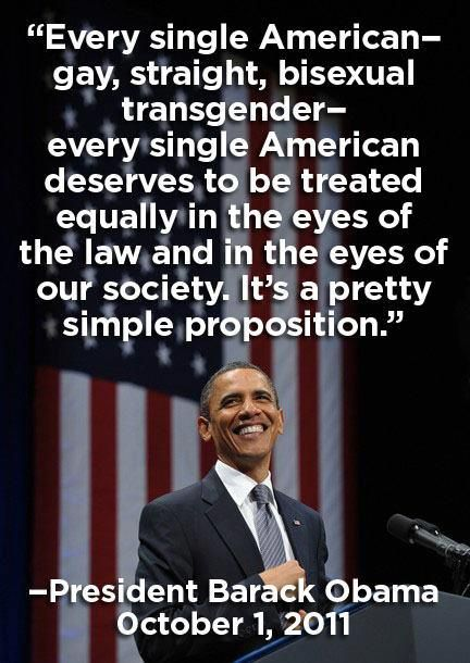 from Oakley obama gay quote