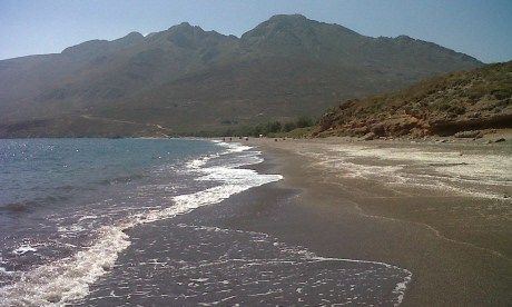 Tales from the Kantina, Eristos Beach, Tilos, Greece (Jennifer Barclay)