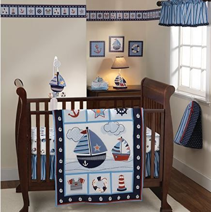 nautical crib set