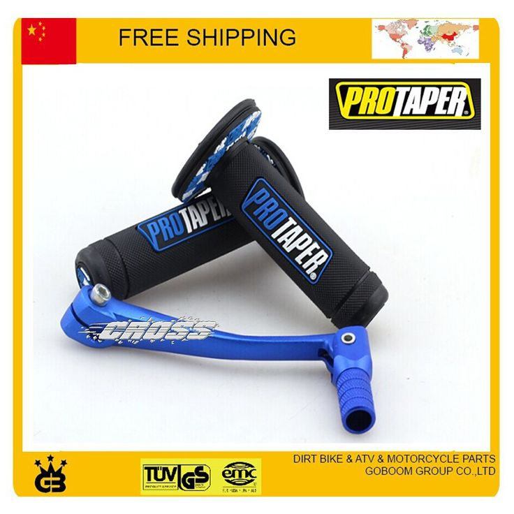 Wholesale prices US $15.99  MX Dirtbike Cross Pro Taper Handle Grip Grips + blue alloy gear shift lever dirt pit bike motorcycle accessories free shipping  #Dirtbike #Cross #Taper #Handle #Grip #Grips #blue #alloy #gear #shift #lever #dirt #bike #motorcycle #accessories #free #shipping  #CyberMonday