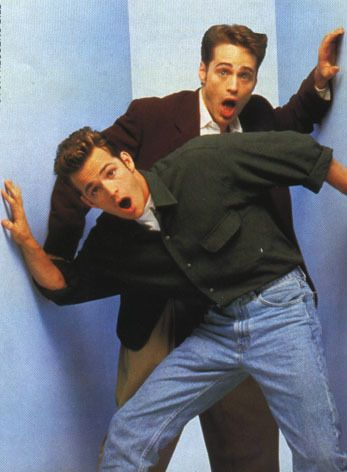 Brandon and Dylan - beverly-hills-90210 Photo