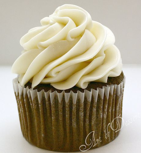 Hybrid Buttercream Frosting -- my new go-to recipe. Not too sweet, not too heavy, still pipeable