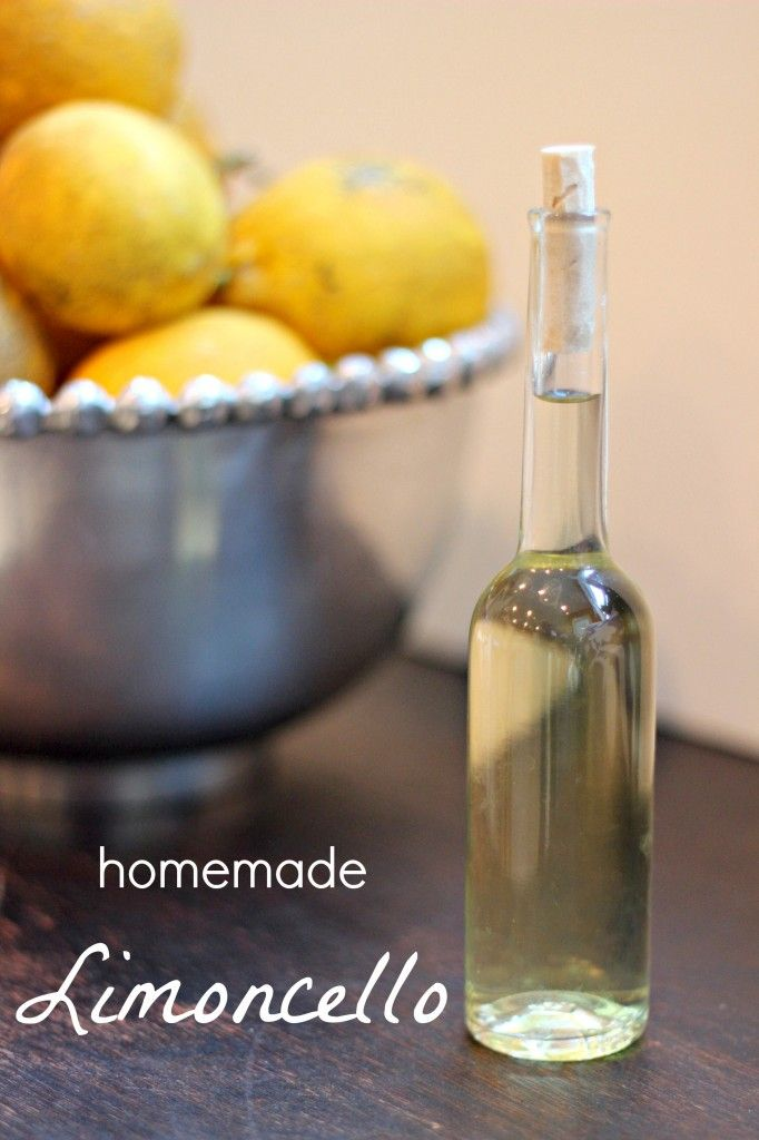 How to make Homemade Limoncello, via The Italian Dish, via ...