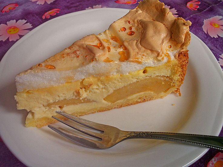 Apfel - Quark - Kuchen