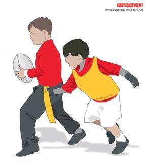 U7 U8 Mini Tag Rugby Refereeing and Game Coaching