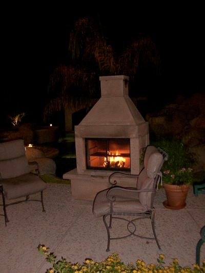 .Perfect Outdoor, Fireplaces Kits, Bad Colors, Fireplaces Mantels, Outdoor Fireplaces, Easily Painting