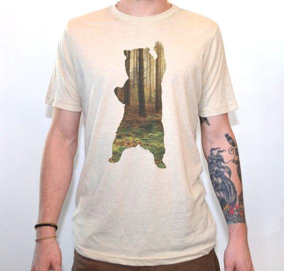 Bear T-Shirt  Les chemises pour hommes T graphique  par ArtisanTees