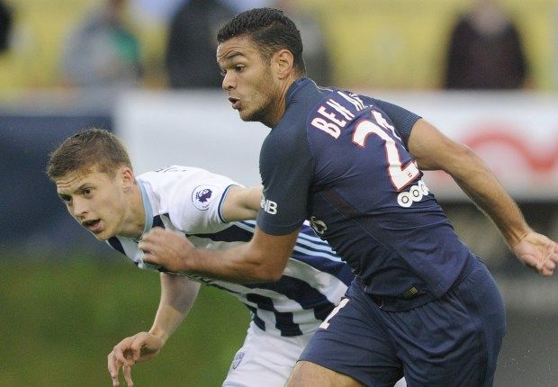 Warm PSG welcome delights Ben Arfa