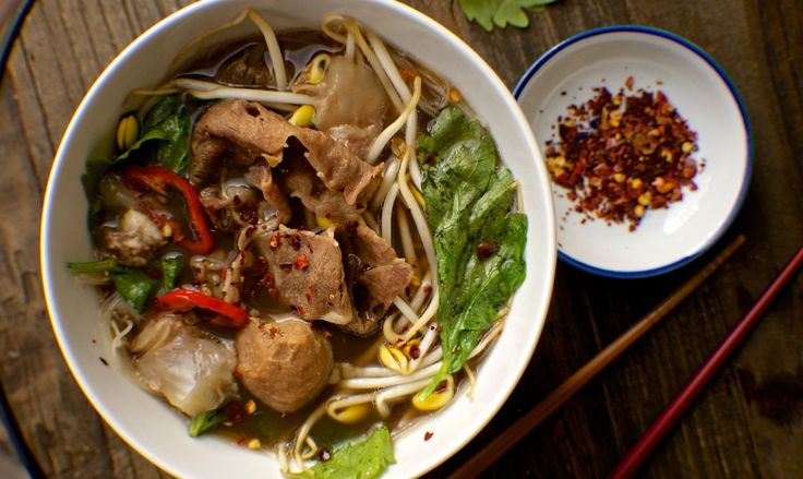 """One of my all time favorite Thai boat noodle places was right down the street from where I used to live in Bangkok on Soi 31 called """"Noodern"""". I hope it's still there with that incredibly satisfying """"Guay Tiew""""."""
