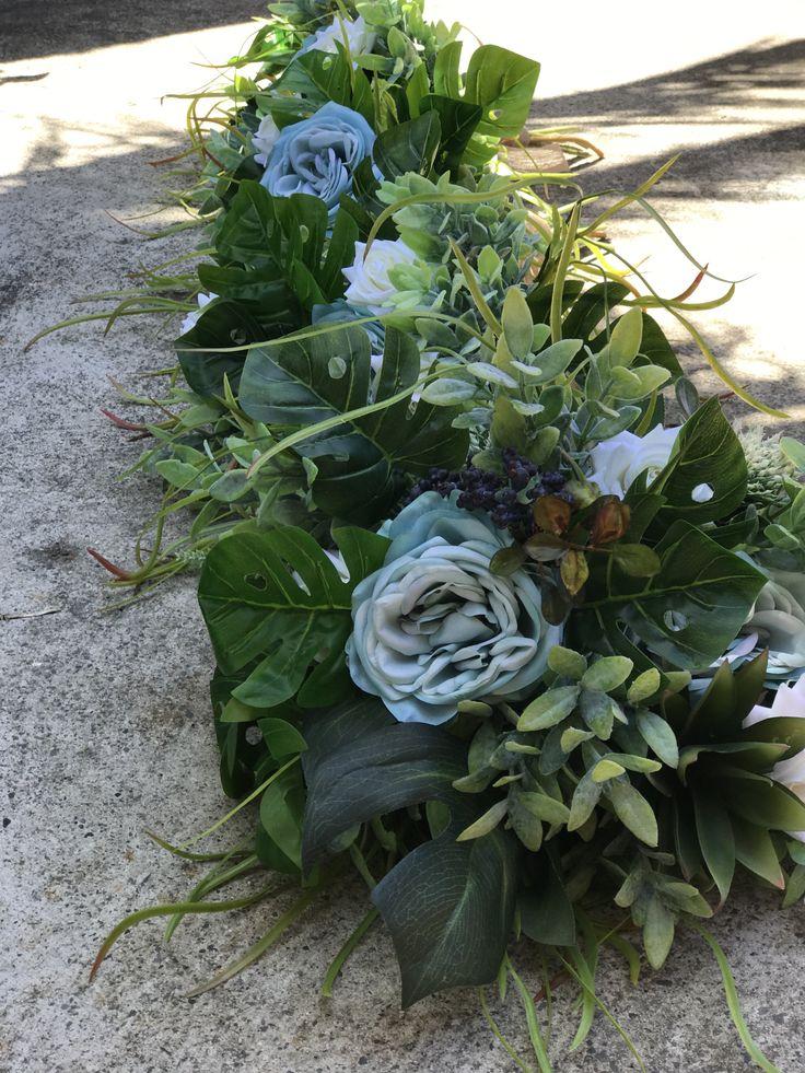 Artificial Blue bridal Bouquet