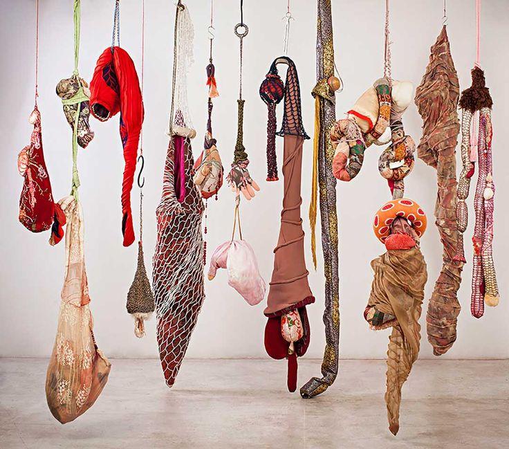 Textile art by Renato Dib