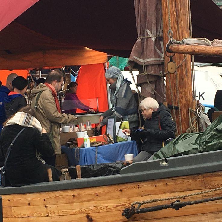 #Helsinki Baltic herring market #since 1743 #Helsinki #Finland100 #Helsinki market place