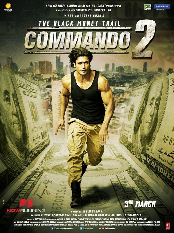 Vidyut Jamwal in Commando 2