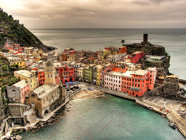 Cinque Terre , Italy...this is a revisit, one of the loveliest places I have ever been.