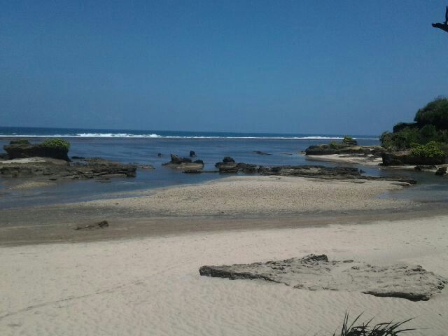 Santolo beach, garut west java