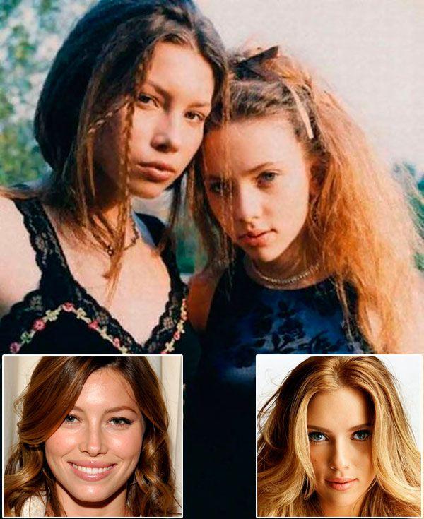 24 Fotos raras e antigas de pessoas famosas!!!  :)  ***(Jessica Biel com 16 anos e Scarlett Johansson com 14 anos!)
