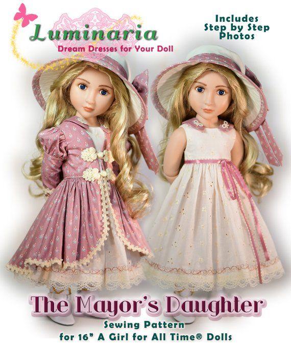 PDF Doll Clothes Pattern Fits Imda 3.0 Doll Soom 1//6 YOSD BJD Dolls