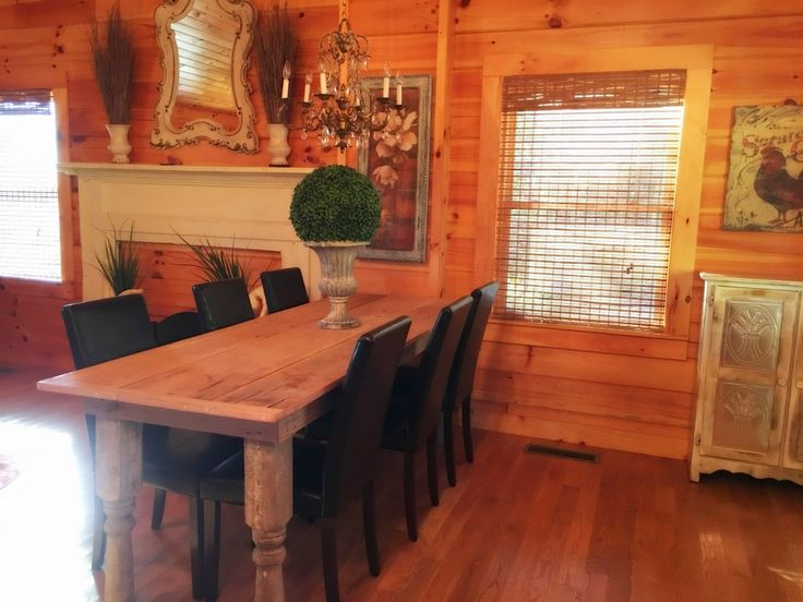 24 Best Delightful Dining Areas Honest Abe Log Homes