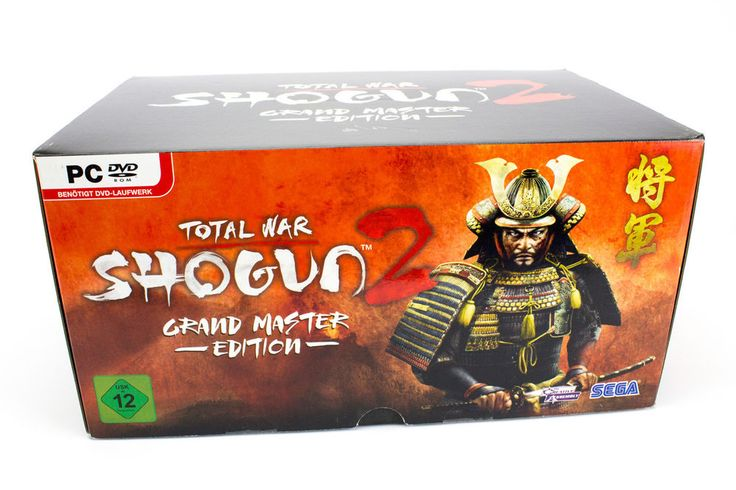Total War Shogun 2: Grand Master Edition for PC Limited to 999, 2011, Sealed