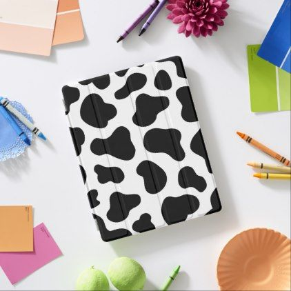 Cute Cow Spots IPad Smart Cover - pattern sample design template diy cyo customize