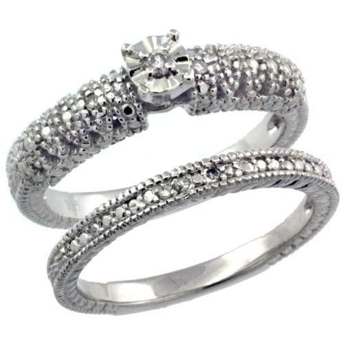 diamond engagement ring under 200 14 - Wedding Rings Under 200