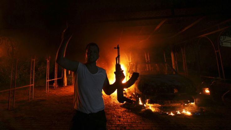 Terrorism: This source is about survivors from Benghazi  interviewed by the FBI blaming the attacks on terrorism. Benghazi was a place in Libya that got attacked on September 11, 2012.