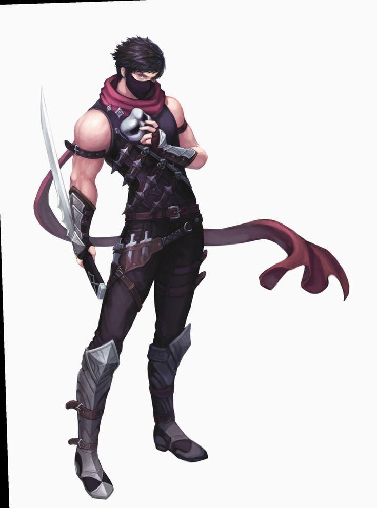 Anime outfits male assassin manga animecosplay