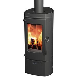 supra lytham po le bois tout fonte vision verticale du feu finition int rieure en nid. Black Bedroom Furniture Sets. Home Design Ideas