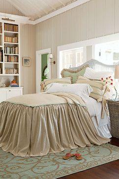 Lisette Skirted Coverlet traditional-duvet-covers