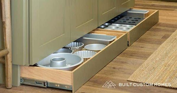 The 4 Inch Kitchen Space You Keep Neglecting But Should Really Use For Storage Kitchen Pull Out Drawers Pull Out Kitchen Cabinet Toe Kick Drawer