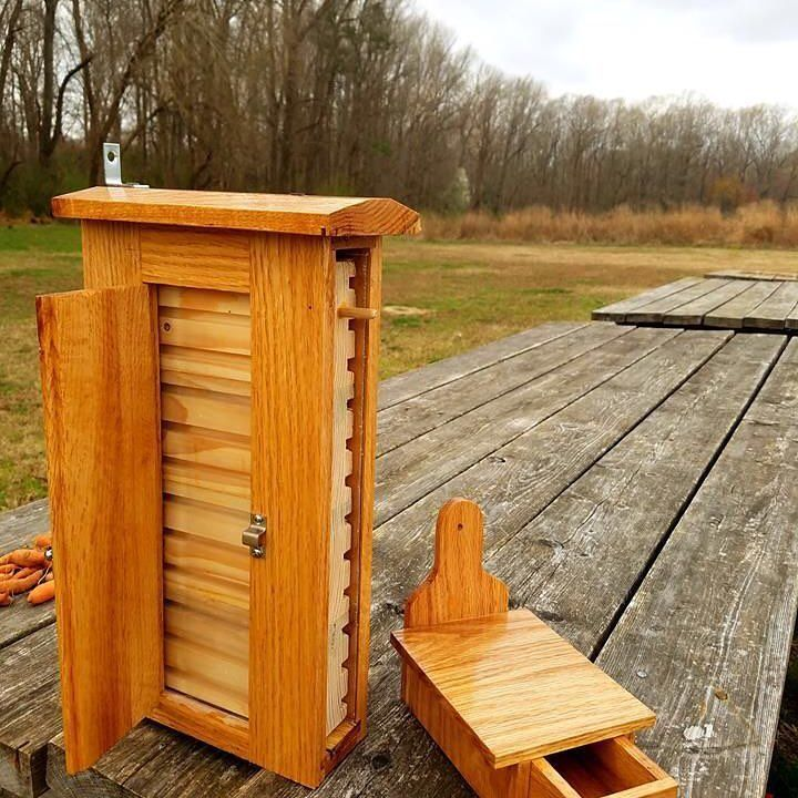 Bee boxes provide our little flying workers with a place to keep safe and warm during the winter months.   Would you be interested in a workshop teaching you how to make these? . . . #farming #gardening #garden #outdoors #bees #followme #agriculture #NCState #agroecology #agronomy #sustainability